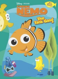 The Tank Gang: Finding Nemo Coloring Book Plus Bathtub Stickers
