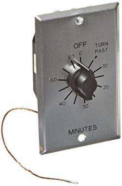 Mechanical Sauna Timer for 110-240 VAC – Sauna Controller Infrared Heaters