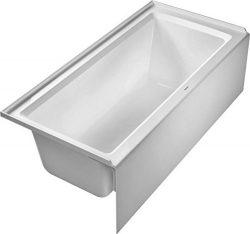 Duravit 700408000000090 Architect Bathtub, White