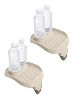 Intex PureSpa Cup Holder And Refreshment Tray (2 Pack)