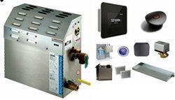 Mr Steam MS-Super2-EC1 Steam Bath Generator with I Dream Package in Black
