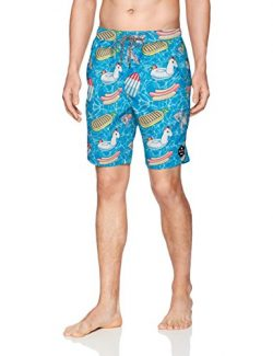 NEFF Men's Daily Hot Tub Board Shorts for Swimming, Day Pool Party, XL