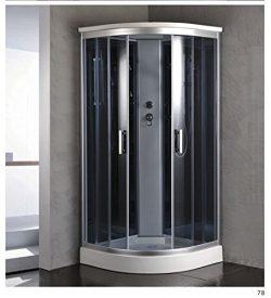"Luxury Kokss 9918 Shower enclosure 36"" x 36"" Multi function hand shower and overhead rain. Moder ..."