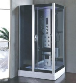 Rectangular steam shower room L90S09 36x48x85 With Hydro Massage and Bluetooth 9009 (Heavy Duty)