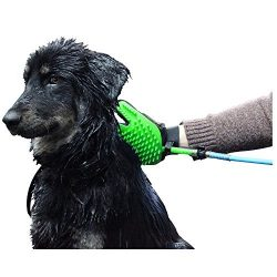Woogie.Mitt 2018 Pet Bathing Tool Pet Shower Sprayer 2 in1 Use In Bath Tub And Outside Use Unive ...