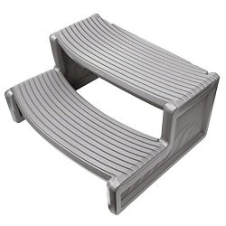GSV Store Grey Resin Handi-Step For Spa RV, Campers and Hot Tubs
