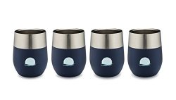 MoonSip [Set of 4] – 25% OFF CHRISTMAS in JULY SALE – Vacuum-Insulated Stainless Steel Stemless  ...