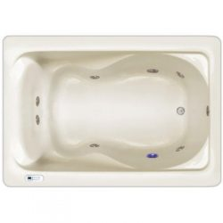 Signature Bath LPI4730-W-LD Walkin Whirlpool Bathtub with Left Drain and Door, 47″ x 30&#8 ...