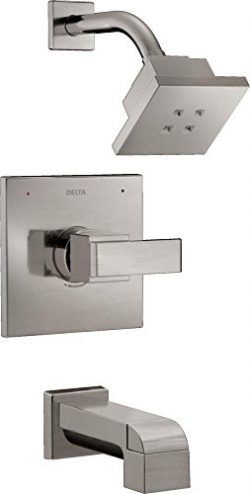 Delta T14467-SSH2O Ara Monitor 14 Series Bathtub & Shower Trim with H2Okinetic, Stainless
