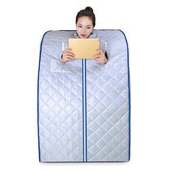 Far Infrared Sauna Box Home Steaming Box Home Sauna Bath Steaming Room Single Detox -4 Pcs Heati ...