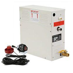 Happybuy 9 KW Steam Generator 220V Sauna Bath Steamer with Waterproof Programmable Controls for  ...