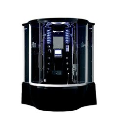 Lifetime Bath Adjustable Showerhead Spa Massage Venado Steam Shower Unit With Waterproof Audio V ...