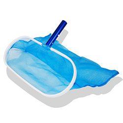 Czyjoe Heavy Duty Deep-Bag Pool Net Pool Skimmer Leaf Skimmer Rake – Fine Mesh Net for Cle ...