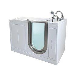 Ella H3118-HB Royal Acrylic Hydro Massage Walk-in Bathtub, 32″ x 52″ x 38″, White