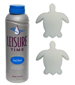 Leisure Time Foam Down (1 Pint) Plus Two Free Turtle Scum Out