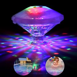 Waterproof Swimming Pool lights, Floating Pool Light Bulb for Pool, Pond, Hot Tub or Party Decor ...