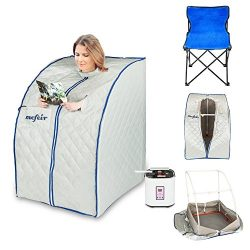 Mefeir Portable Steam Sauna Home SPA, Full Body Slimming Loss Weight, Detox Therapy One Person,  ...