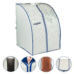 Mefeir Portable Far Infrared Sauna Home SPA, Healthy Folding Full Body Slimming Loss Weight, Det ...
