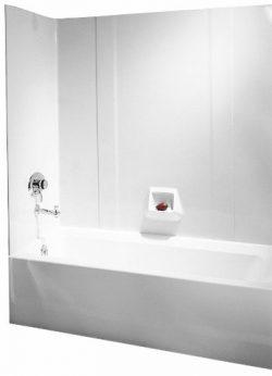 Swanstone RM-58-010 High Gloss Tub Wall Kit, White Finish
