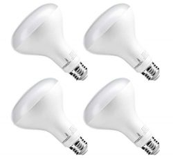 Hyperikon BR30 LED Bulb Dimmable, 9W (65W Equivalent), 4000K (Daylight Glow), Wide Flood Light B ...