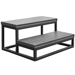 Cal Metro CM955-CSMI 21″ x 30″ x 14″ 2 Tier Spa Step, 16 Gauge welded powdered ...