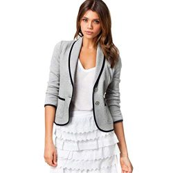 Women Coat Clearance, Seaintheson Women Business Office Work Coat Blazer Suit Long Sleeve Tops S ...