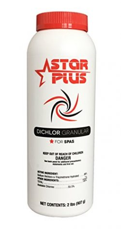 Star Plus Spa Chlorine, 2-Pound Hot Tub Chlorinating Granules