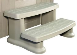 Cover Valet CV0108-Spa Side Step-Warm Grey