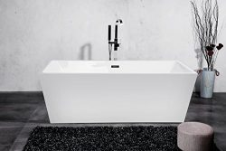 CRACCO SPA Bathroom White Color Free Standing Acrylic Bathtub