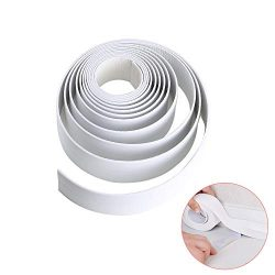 Caulk Strip KINDPMA Self Adhesive Bathtub and Wall Sealing Tape Waterproof Kitchen Caulk Tape fo ...