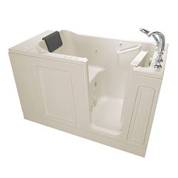 American Standard 3051.119.CRL Acrylic Luxury Series 30″ x 51″ Walk-In Bathtub with  ...