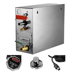 Mophorn 7KW Steam Generator with Digital Timer Temperature Control 220V Sauna Shower Steamer Ste ...