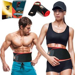 Only1MILLION Waist Shaper Men Women Phone Pouch – Adjustable Waist Trimmer Belt Accelerated Weig ...