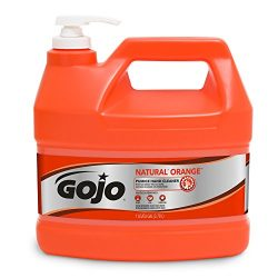 Gojo 0955 Natural Orange Pumice Hand Cleaner – 1 Gallon