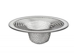 Danco Bath Tub Drain Mesh Strainer, Stainless Steel, 2-3/4 Inch, 1-Pack (88821)