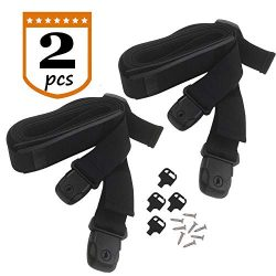 XJunion 2pcs Adjustable Hot Tub Spa Cover Secure Straps -with Non-Slip Pad Hardware Included.