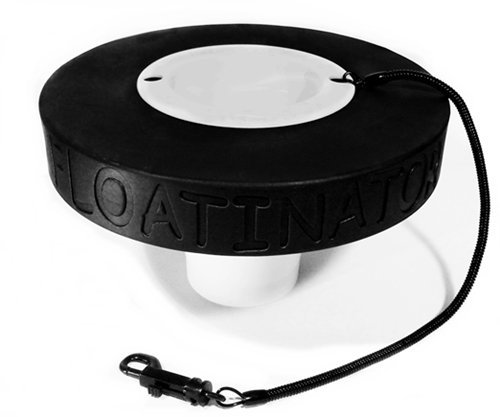 Floatinator (Black Floating Cup Holder UV Resistant Foam Float can Support Your Yeti, Tervis or  ...