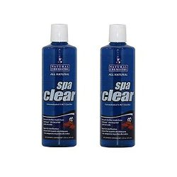Natural Chemistry Spa Clear Concentrated 4-in-1 Clarifier, 32 Ounces (2 Pack)