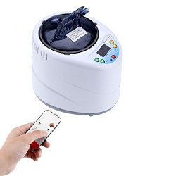 Yosoo 2L Remote Control Sauna Steamer, Stainless Steel Steam Generator Pot Evaporator for Home  ...