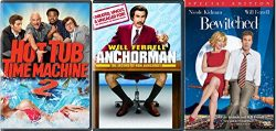 The Will Ferrell Comedy Collection 2 and Hot Tub Time Machine 2 – Anchor Man The Legend of ...