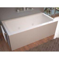Avano AV3060SHWR Sahara 60″ Acrylic Whirlpool Bathtub for Alcove Installations w, White