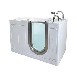 Ella H03118-HB Royal Acrylic Soaking+Heated Seat Walk-in Bathtub, 32″ x 52″ x 38&#82 ...