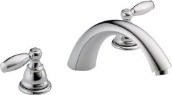 Peerless PTT298696 Apex Two Handle Roman Tub Trim, Chrome