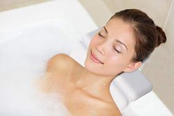 Yimobra Original Spa Bath Tub Pillow Featuring Powerful Gripping Technology.Comfortable,Extra So ...