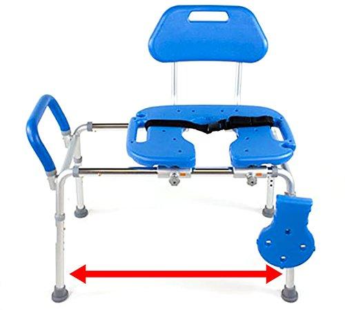Hydroglyde Premium Heavy Duty Sliding Bathtub Transfer