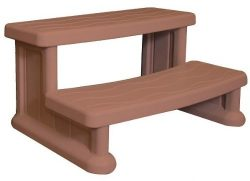 Blue Wave Spa Side Step – Redwood