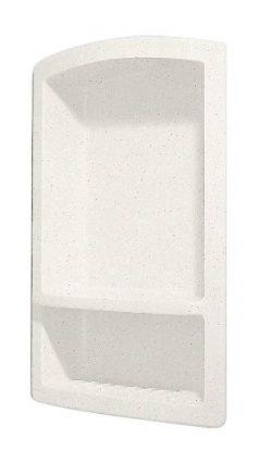Swanstone RS-2215-072 Recessed Shampoo Shelf, Pebble Finish