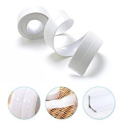 Corner Line Tape Strip Waterproof Mildew Proof Kitchen Bathtub Wall Edge Protector Widen 2 Pcs ( ...