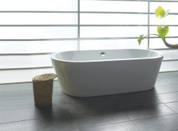 AKDY Bathroom White Color FreeStand Acrylic Bathtub AZ-F224