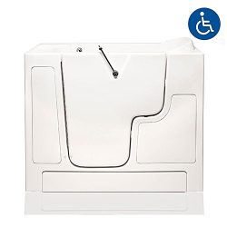 American Tubs LOVE3052W 30″ x 52″ Wheelchair Accessible Soaker Walk-in Bathtub &#821 ...